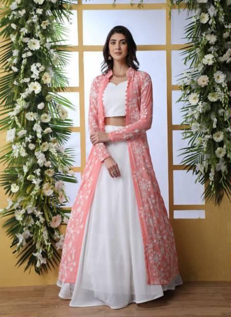 Bridesmaid Vol 5 designer heavy Indo Western Lehenga Choli