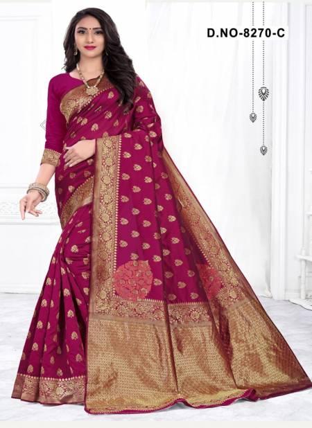 Melody 8270 Designer Handloom Cotton Silk Saree Collection at Wholesale Price