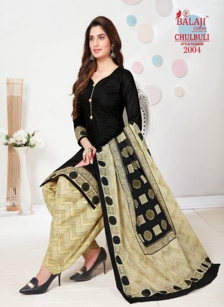 Balaji Chulbuli 2 Pure Cotton Printed Designer casual Dress Material