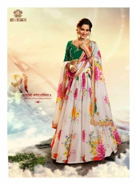 Arya Devi Latest Designer Party Wear Festive Wear Printed Sequins Work Lehenga Collection