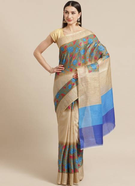 Daily Wear Bhagalpuri Designer Saree Collectons