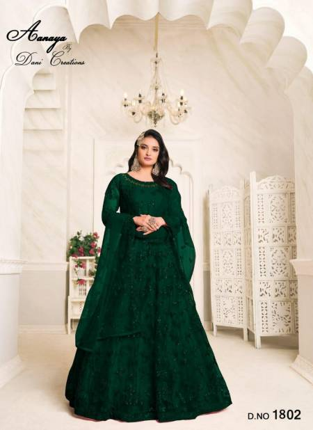 TWISHA AANAYA VOL-118 Latest fancy heavy designer Wedding Wear Net With Heavy Tone to Tone Thread And Sequence Work Gown Collection