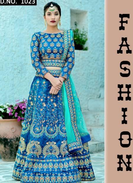 Khushbu Rasam Latest Designer Heavy Party Wear Silk Embroidery Work Lehenga Collection