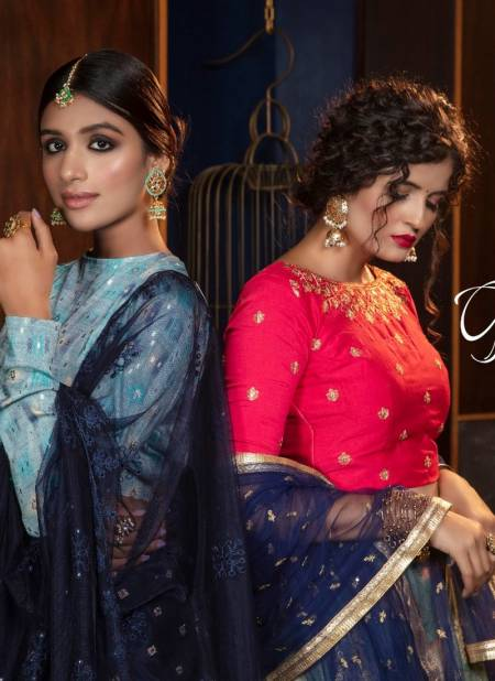 KHUSHBOO Girly Vol-7 Latest fancy Festive Wear Cotton Heavy Designer Exclusive Lehenga Choli Collection