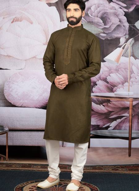 New Designer Embroidery Work Cotton Silk Eid Special Kurta Pajama Collections