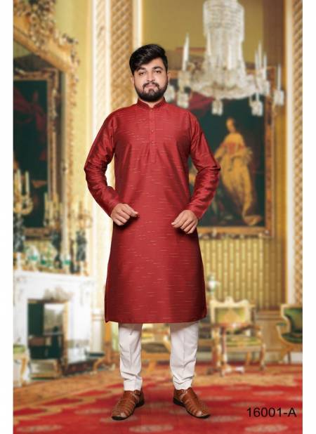 Meet Vol 3 Exclusive Pure Silk Heavy Quality Jecard Designer Festive Wear Mens Kurta With Fancy Wooden Buttons