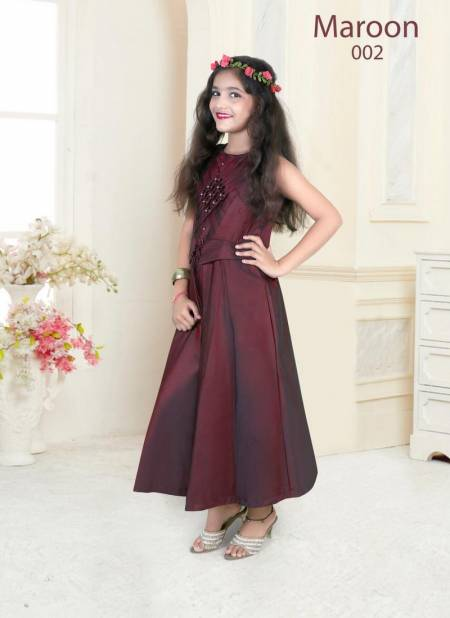 Nidisha Exclusive Festive Wear Pretty Gown Collection For Girls