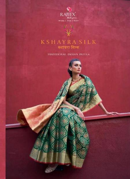 RAJ TEX KSHAYRA SILK Latest Fancy Heavy Designer Festive Wear Silk Fancy Saree Collection