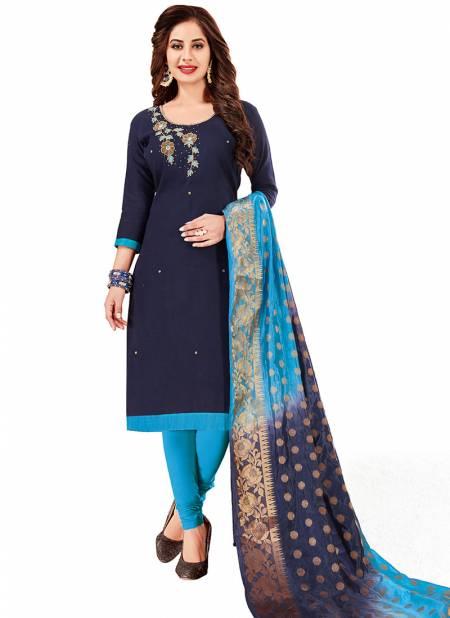 Rahul NX Kulfi Cottan South Slab Handwork Dress With Banarasi Dupatta Designer Salwar Suit Collections