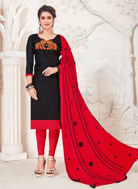 Rahul NX Lollipop Modal Silk with Embroidery Work Dress With Najneen Embroidery Dupatta Designer Salwar Suit Collections