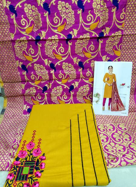 Rahul NX Panipuri Meenakari Cottan Flex Handoom Cotton Tradional Daiy Wear Designer Salwar Suit Collections