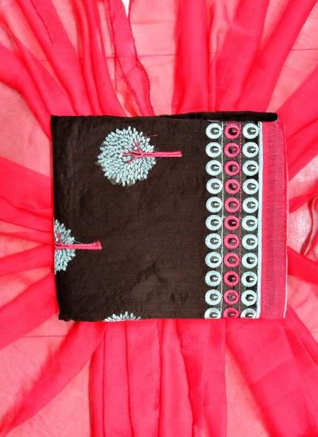 Rahul NX Rasili Vol 11 Chanderi Cottan Embroidery Work Traditional Designer Salwar Suit Collections