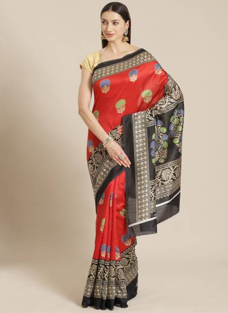 The Ethnic World Bhagalpuri Daily Use Designer Rich Look Saree Collections
