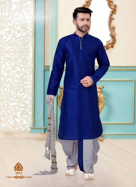 Eid Special Dupion Silk Designer Dhoti style and Chdidar Style Kurta Collections