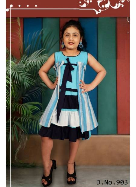 Arya Bachpan Exclusive Frock Style Cotton Kids Wear Collcetion