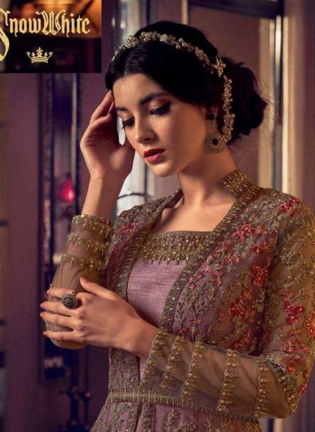 Swagat Snow White Latest Heavy Designer Wedding Wear Fancy Butterfly Net With Heavy Embroidery Work Salwar Suit Collection