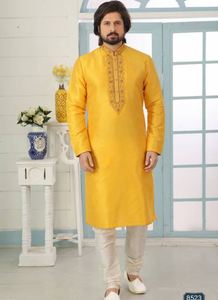 New Designer Party And Function Wear Traditional Art Banarasi Silk Kurta Churidar Pajama Redymade Collection