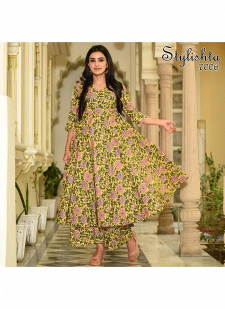 Stylista Vol 07 Latest Casual Wear Pure Maslin With Digital Printed Kurti With Plazzo Collection