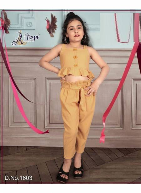 Arya Jyusshi Exclusive Western Look imported Fabric 2 Piece Kids Wear Collection