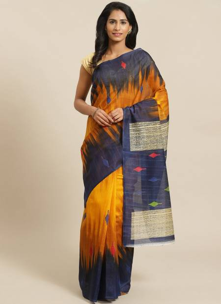 Simple and Rich Look Bhgalpuri Designer Saree Collections