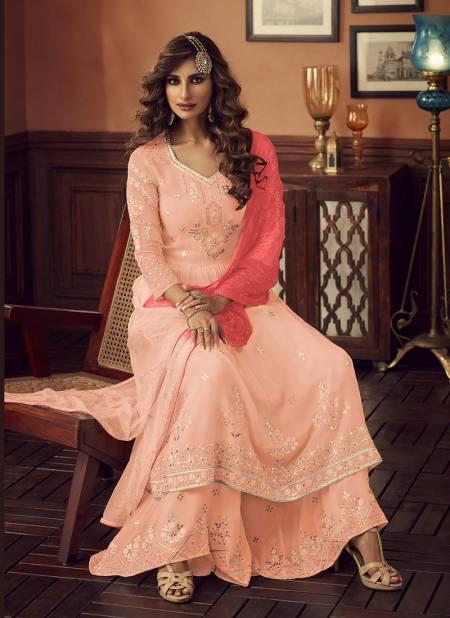 Zoya Latest Fancy Designer Stylish Wedding Wear Fox Georgette With Embroidery Work salwar Suit Collection