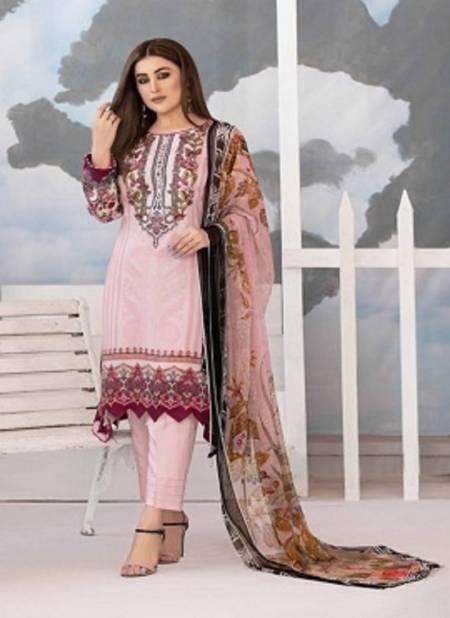 Agha Noor Tawakkal Latest Fancy Designer Casual Wear Printed Karachi Dress Materials Collection
