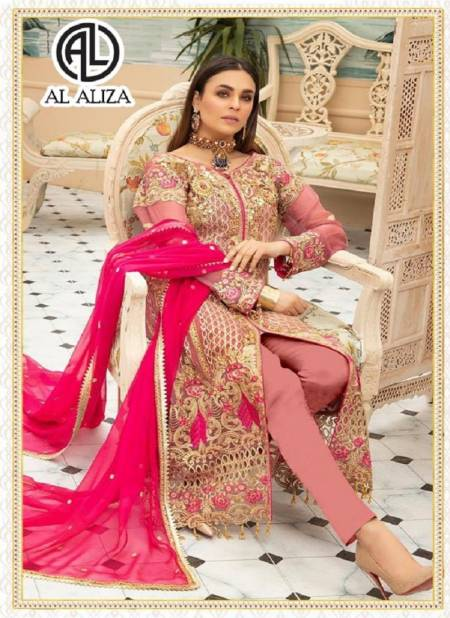 Al Aliza Sanober Festive Wear latest Designer Pakistani Salwar Suits Collection