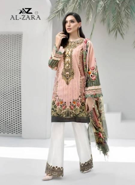 Al Zara Mannat 5 Latest Fancy Pure Cotton Heavy Patch Work Karachi Dress Materials Collection