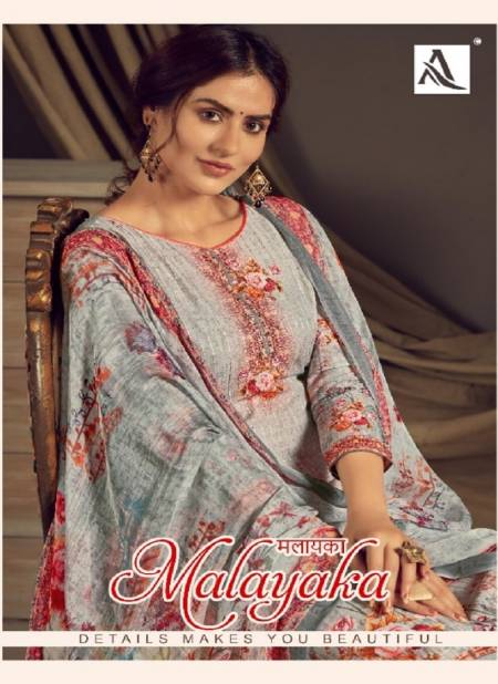 Alok Malayaka Latest Designer Fancy Casual Regular Wear Exclusive Dress Material Collection