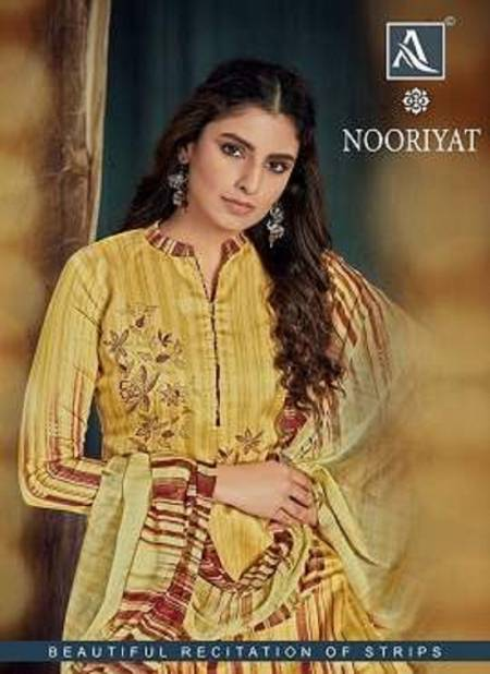 Alok Nooriyat Latest Designer Casual Wear Pure Jam Cotton Printed Dress Material Collection