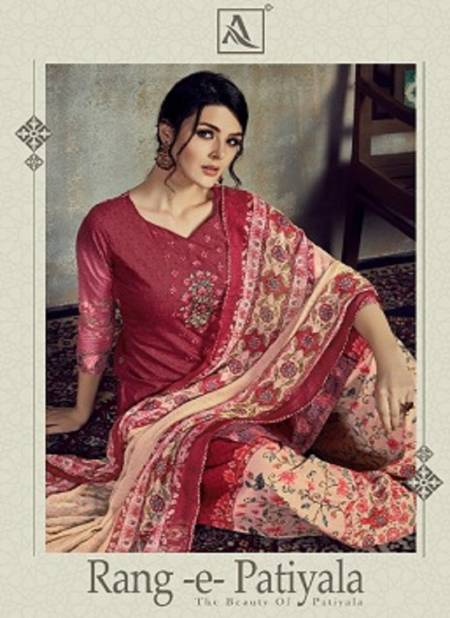 Alok Rang E Patiyala Exclusive Ready Made Collection Of  Casual Wear Cotton Printed Designer Salwar Suit