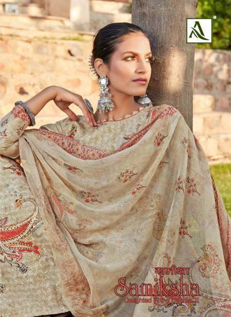 Alok Samiksha Latest fancy Regular Wear Pure Cotton chiefly work with Digital Print Dress Material Collection