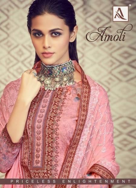 AMOLI Pure Zam Cotton Digital Designer Print with Swarovski Diamond Designer Daily wear Salwar suit Collections
