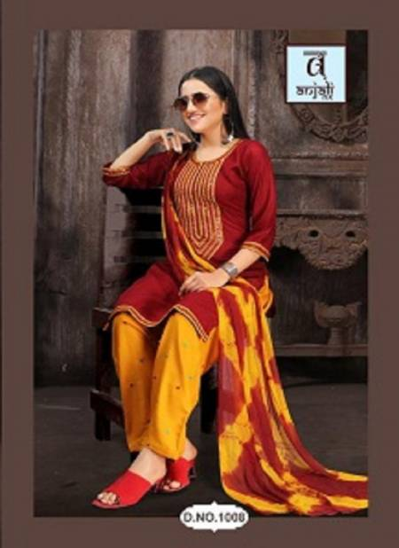 Anjali Alvira Latest fancy Casual Regular Wear Readymade Salwar Suit Collection