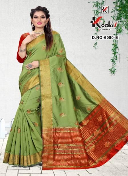 Anupama 6080 Latest Fancy Designer Festive Wear Pure Silk Saree Collection