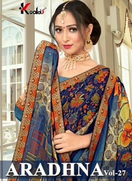 Aradhna 27 Latest Fancy Casual Regular Wear Rennial Printed Sarees Collection