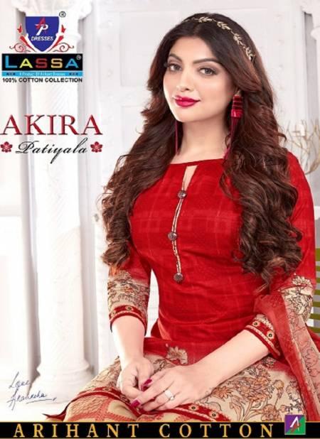 Arihant Lassa Akira Latest Fancy Regular Wear Printed Cotton Dress Material Collection