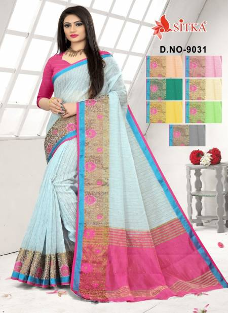 Arohi 9031 Latest Fancy Designer Heavy Casual Wear Cotton Silk Sarees Collection