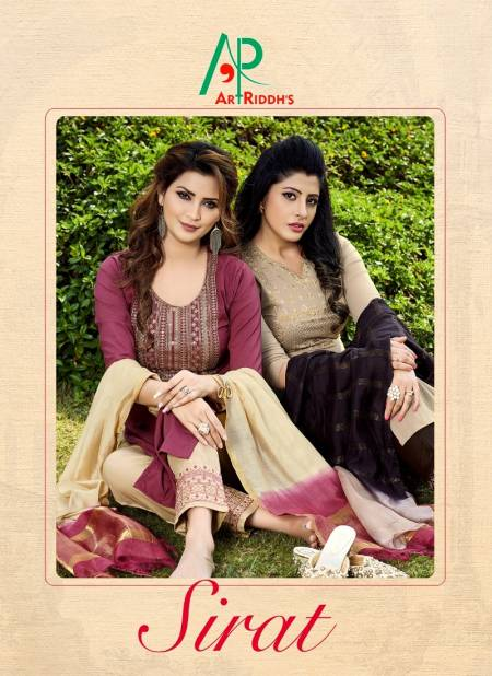 Art Sirat 3 Latest fancy Designer Heavy Festive Wear Ready Made Salwar Suit Collection