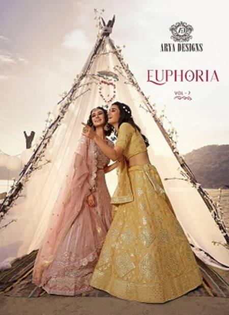 Arya Euphoria 7 Heavy Designer Soft Net Wedding and Partywear Lehenga Choli Collections