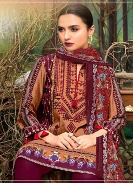 Ayesha Hiba Latest Fancy Designer Casual Wear Lawn Cotton Karachi Dress Materials Collection