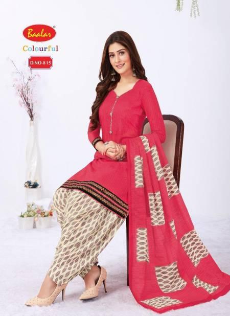 Baalar Colourful 8 Latest Fancy Regular Wear Cotton Printed Readymade Salwar Suit Collection