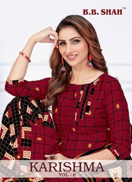 Bb Shah Karishma 6 Latest Fancy Designer Cotton Regular Casual Wear Printed Cotton Collection