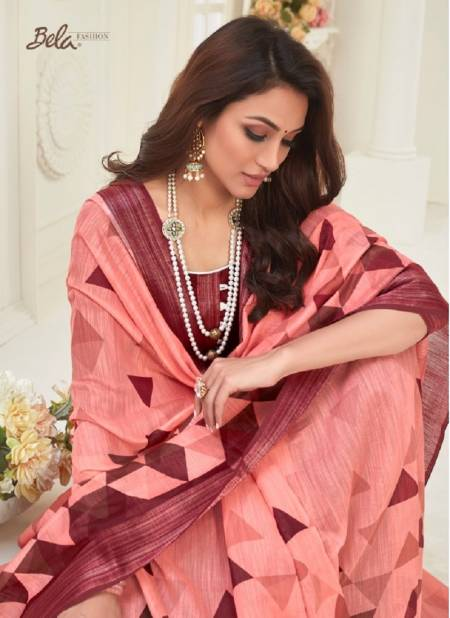 BELA JASMINE VOL-13 Latest Designer Festive Wear Heavy Chiffon Printed saree Collection