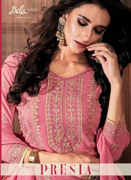 Bela Presia Latest Fancy Designer Casual Wear Georgette Churidar Salwar Suits Collection