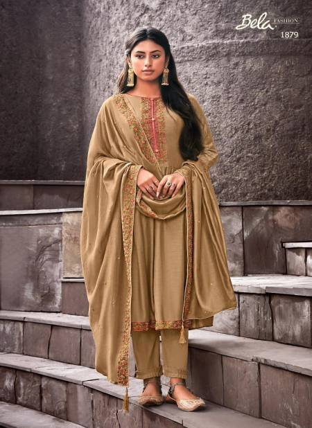 Bela Ziba 1872 Series Designer Festive Wear Cotton Silk Salwar Kameez Collection