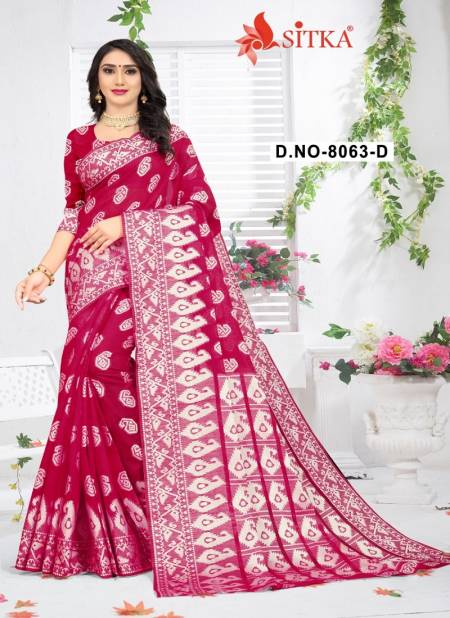 Belize 8063 Fancy Casual Festive Wear latest Designer Poly cotton Sarees Collection
