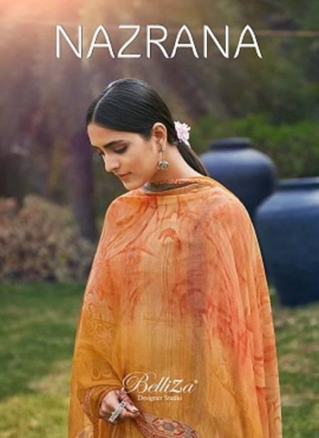 Belliza Nazrana 9 Latest Regular Wear Digital Printed Cotton Dress Material Collection