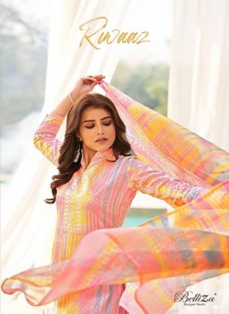 Belliza Riwaaz Latest Casual Wear Pure Original Heavy Jam Cotton Digital Print Designer Dress Material Collection