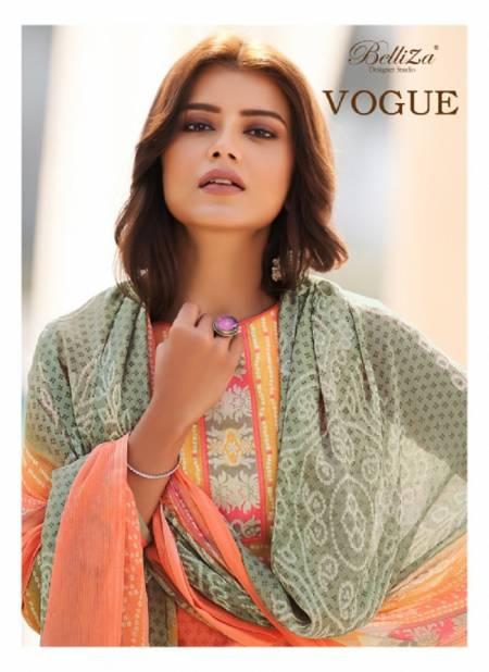 Belliza Vogue Latest fancy Designer Casual Wear Digital Printed Pure Premium Cotton Collection